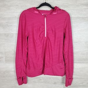 Title Nine hooded 1/4 Zip Pullover Size M